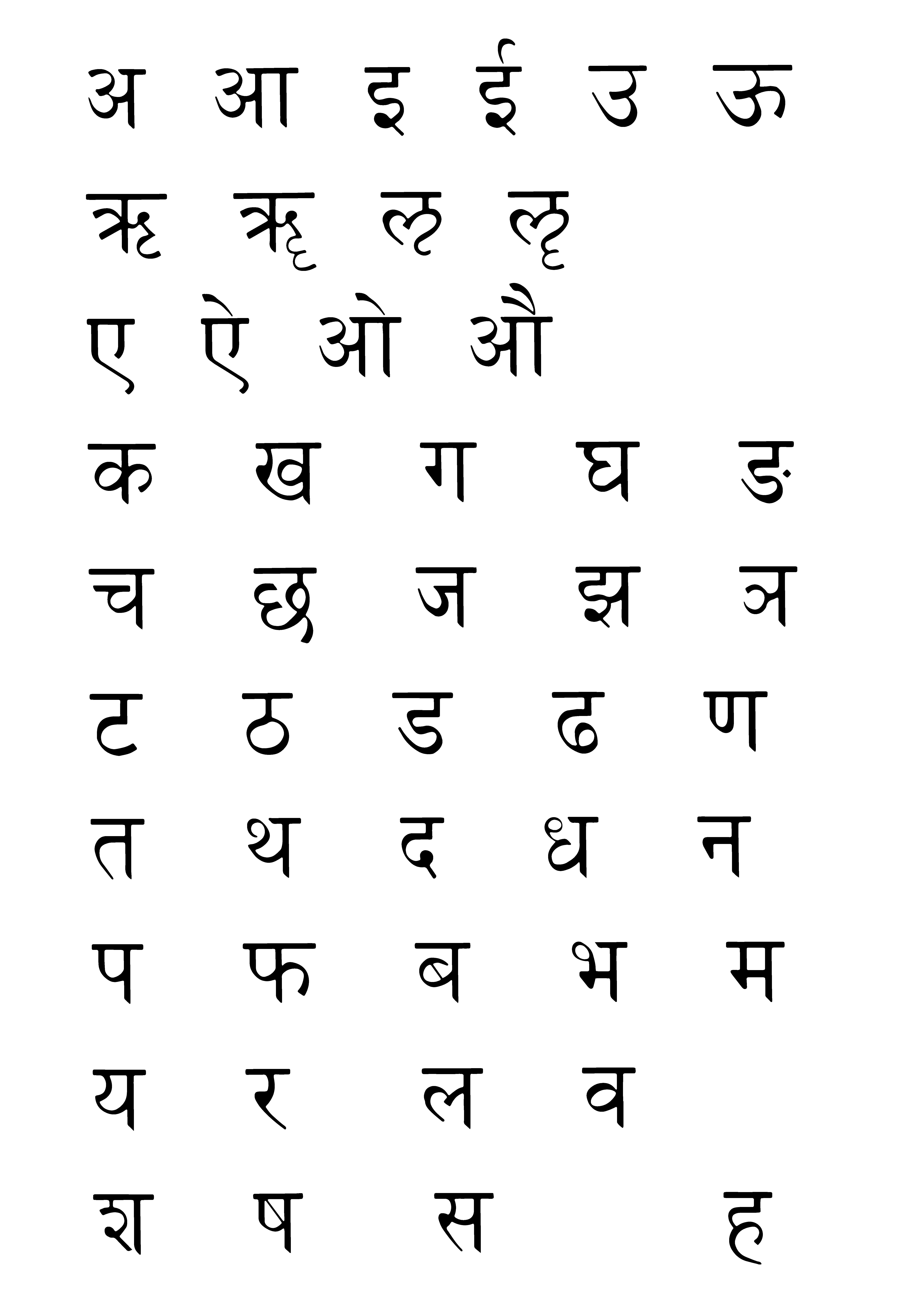 devanagari-bwi